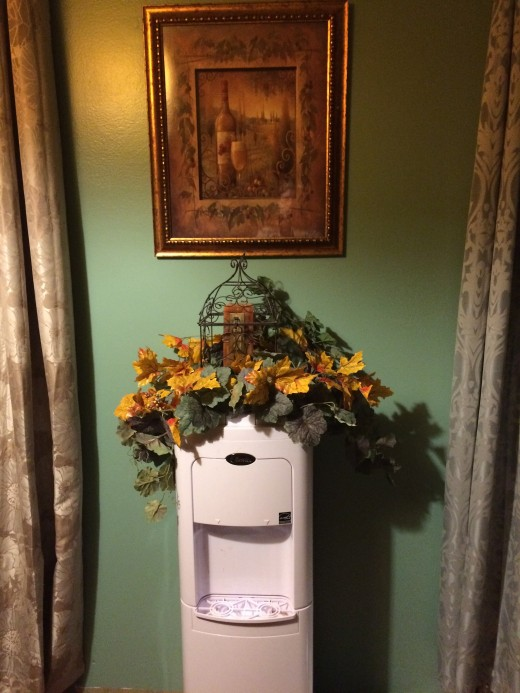Fall for the water cooler