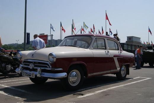 "Volga GAZ-21 ""Star"""