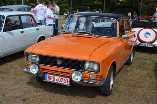 The most popular Moskvitch model
