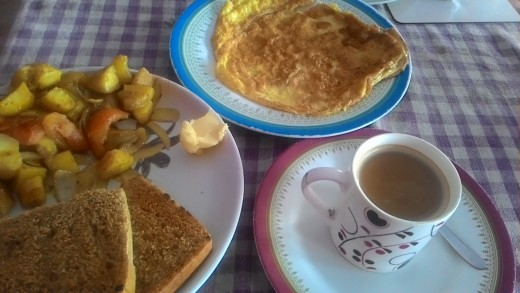 Sun Wel-Come Restaurant set breakfast option
