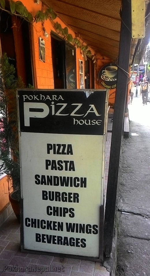 Pokhara Pizza House advertisement