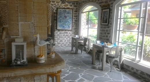 Interior of The Harbor Restaurant