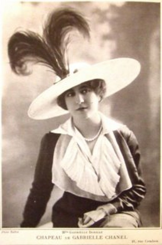 Chanel designed hat 1912