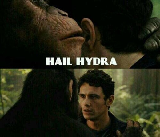 Deleted scene from Rise of the Planet of the Apes. Or is it?!