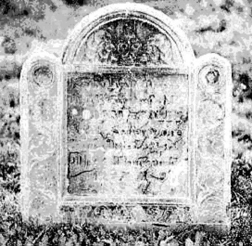 Inscription on grave:  Whom have we lost STOUGHTON! Alas! I have said sufficient, \Tears press, I keep silence. He lived Seventy Years; On the Seventh of July, in the Year of Safety I701, He died. Alas! Alas! What Grief!