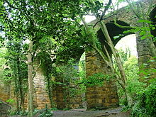 Waterfall Viaduct, Slapewath near Guisborough, a structure protected by law