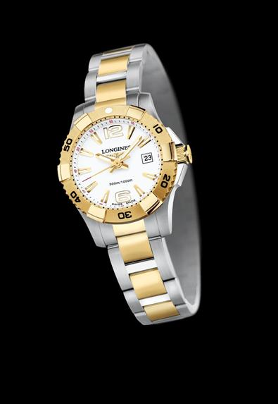 Longines Two Tone Watch