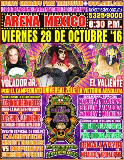 CMLL Dia de Muertos Uno Preview: Explosions in the Sky