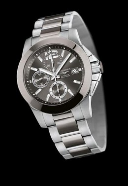 Longines Conquest Steel