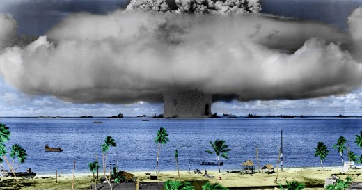Operation Crossroads was a series of nuclear weapons tests conducted by the United States at Bikini Atoll in the Marshall Islands in 1946.
