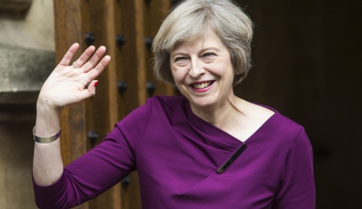 Theresa May the new Prime Minister