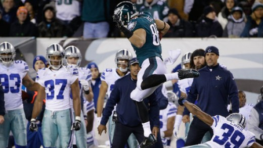 Philadelphia Eagles TE Zach Ertz needs to come up big against the Cowboys