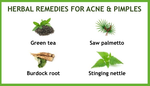 If you are a big fan of herbal remedies, fortunately, there are a number of herbs that can help get rid of your acne and pimple problems.