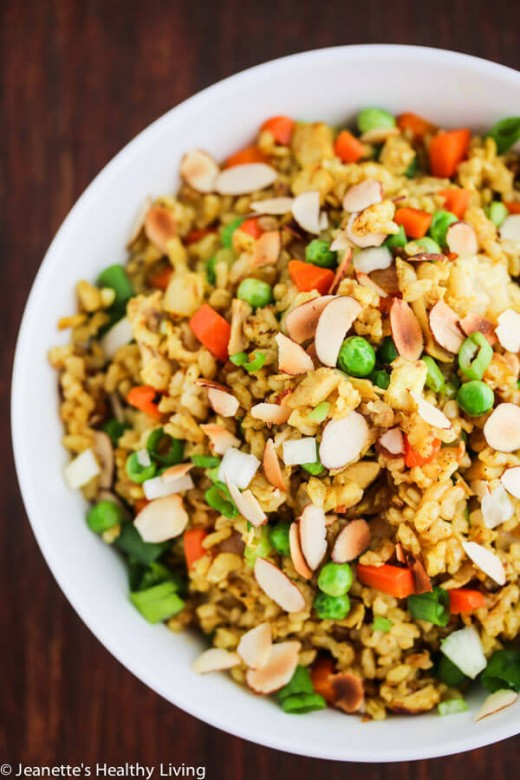 Pan Chicken Fried Rice