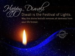 Ode To The Light. Happy Diwali, To My Indian Friends And Poetry-Loving Hubbers