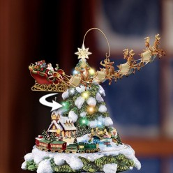 Disney Tabletop Christmas Tree-The Wonderful World Of Disney