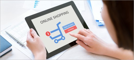 Customers of online shops often pay attention to website design
