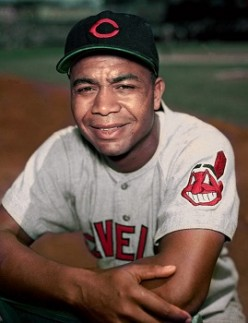 Larry Doby, the second African American to play in the Major Leagues