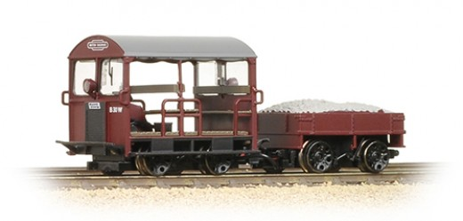 Bachmann Branchline Wickham Gangers Trolley - delayed until December '16 or early '17 -  'Gangers' were railwaymen responsible for the upkeep of part of a branch or main line. Motorised trolleys were their means of travelling distances to work sites