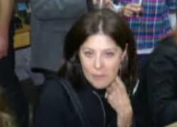 Maria Belen Chapur lookig straight at the camera [www.josephweisenthal.com]