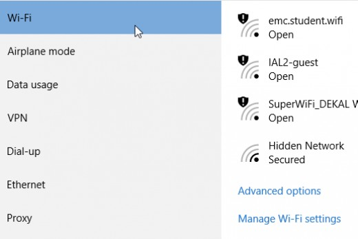 Enable Metered Connection in Windows 10