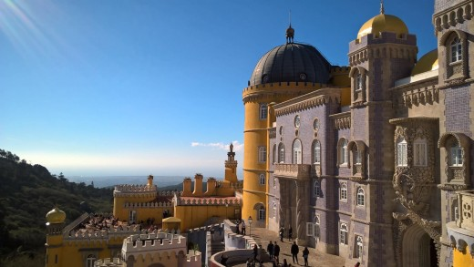 Pena palace in Sintra: the 19th century romantic style in all its glory