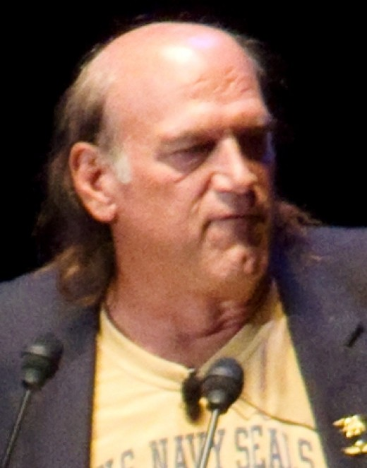Former Minnesota Governor, Navy SEAL, professional  wrestler and  actor,  Jesse Ventura