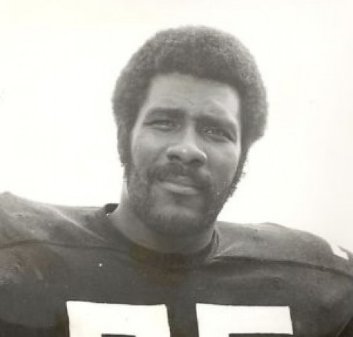 Pittsburg Steelers legend, Mean Joe Greene
