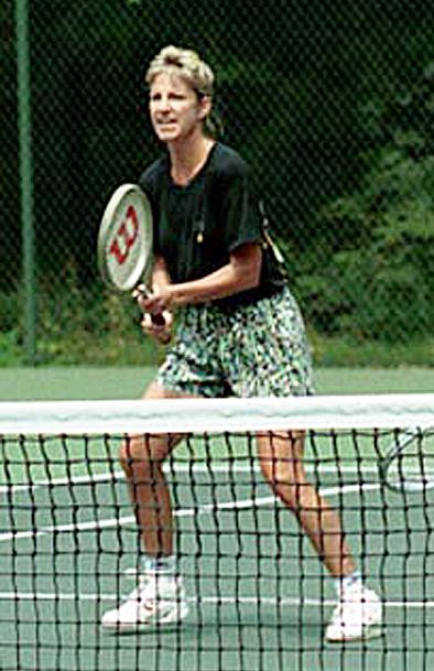 Tennis icon, legend, Chris Evert