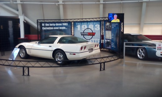 1983 Corvette, National Corvette Museum, Bowling Green, KY