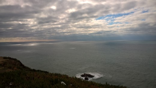 Spetacular views to the Atlantic at Cabo da Roca