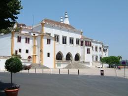 Sintra Palace on a sunny day