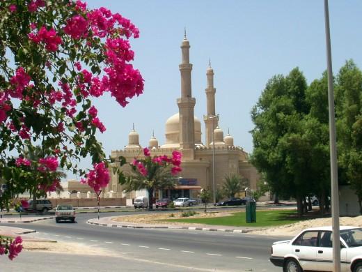 Mosque at Jumeirah, Dubai, UAE