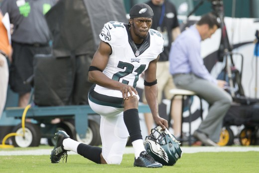 Philadelphia Eagles CB might have to get used to this position on the sidelines