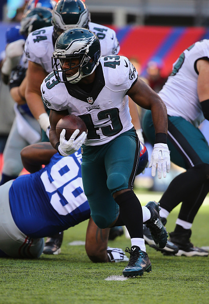 RB Darren Sproles was the Eagles best weapon against the NY Giants