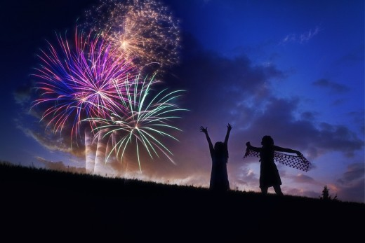 We Can Instantly Create some Fascinating Fireworks of Happiness in Ourselves  -  by a Simple Intent