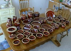 Dinnerware and Treasures from Thrift Stores