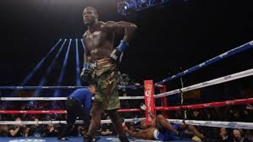 Deontay Wilder knocked out Kelvin Price who at the time was undefeated.