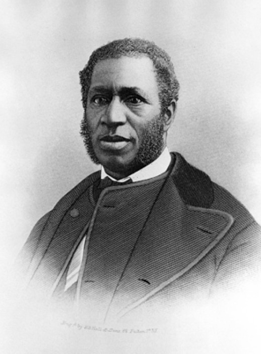 Pastor Richard Harvey Cain, 1st pastor of Emanuel AME Church and a member of the House of Representatives during Reconstruction.