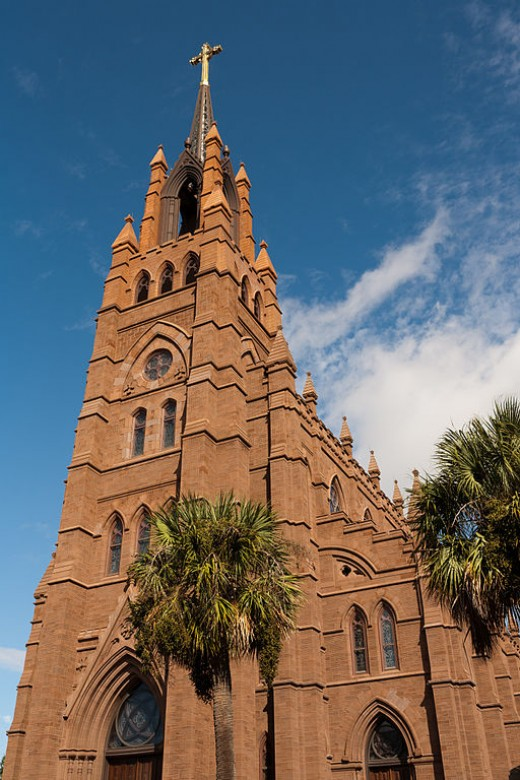 Cathedral of St. John the Baptist burned and later rebuilt.