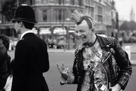 Nigel Farage Punk Politician.