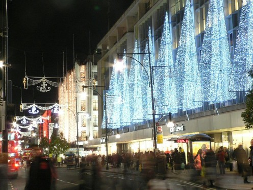 John Lewis department store, Oxford Street, London.