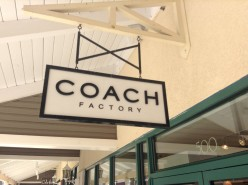 Discount Coach Handbags at the Coach Factory Outlet Store