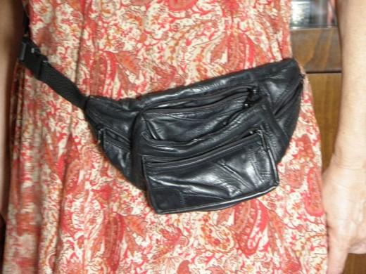 Fanny packs go with almost  any wardrobe ensemble