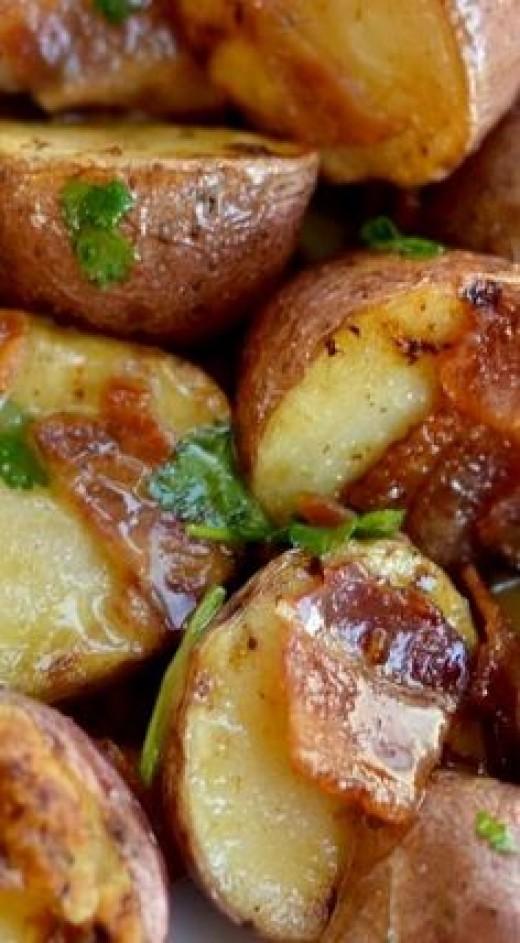 Bacon Honey Mustard Potato Salad