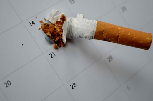 Plan now on how you can quit smoking.