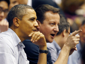 Double act Obama and Cameron