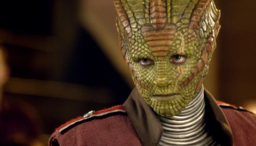 Silurians from  Doctor Who