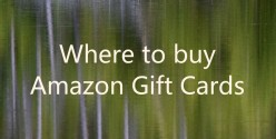 Amazon Gift Cards - Where To Buy