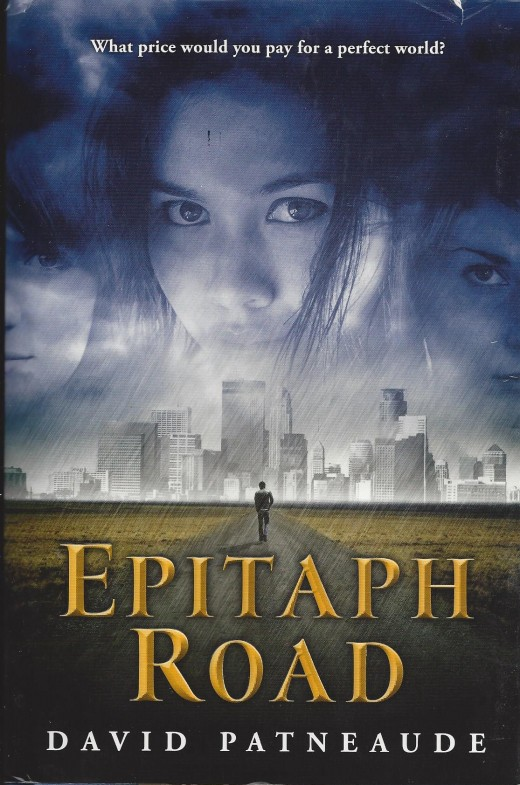 "Book cover of ""Epitaph Road"""